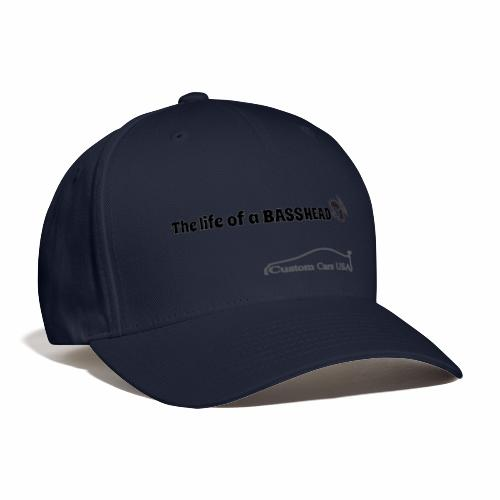 Life of a Bass Head Fitted Hat - Baseball Cap