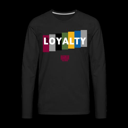 BNKR L/Royalty [Bordeaux] Premium Long Sleeve T-Shirt - Men's Premium Long Sleeve T-Shirt