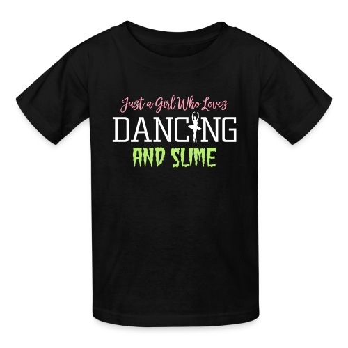 Just a Girl Who Loves Dancing and Slime - Kids' T-Shirt