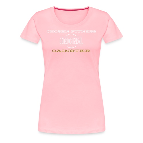 Original Gainster women's shirt - Women's Premium T-Shirt