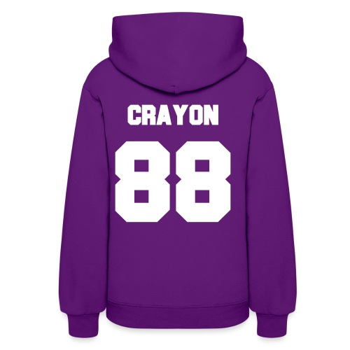 Crayon Jersey-Double Sided - Women's Hoodie