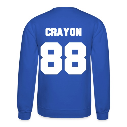 Crayon Jersey-Double Sided - Crewneck Sweatshirt
