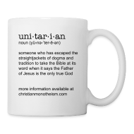 Mugs & Drinkware ~ Coffee/Tea Mug ~ unitarian definition
