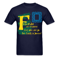 T-Shirts ~ Men's T-Shirt ~ Friends are treasures