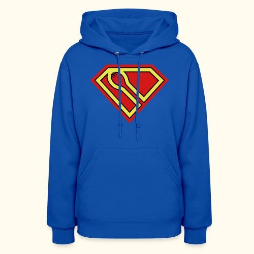 SUPER-spork superhero Womens pullover hoodie - Women's Hoodie