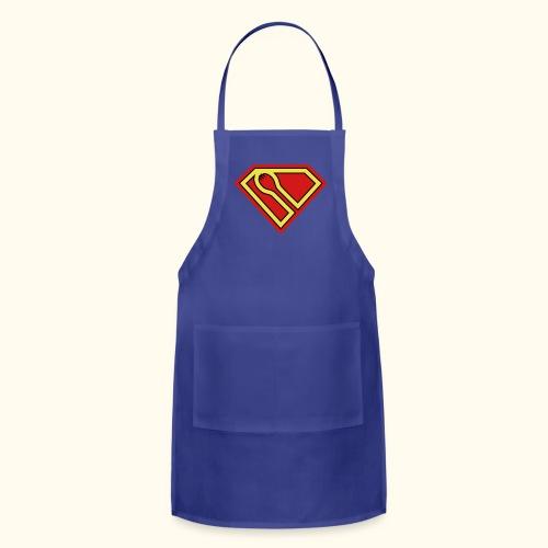 SUPER-spork superhero Apron - Adjustable Apron