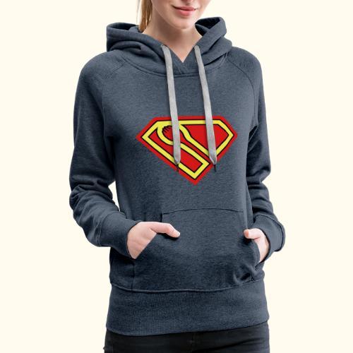 SUPER-spork superhero Ladies Hoodie - Women's Premium Hoodie