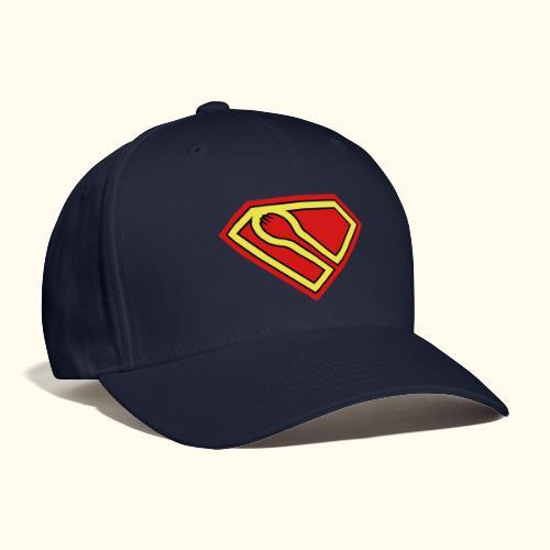 SUPER-spork superhero Cap - Baseball Cap