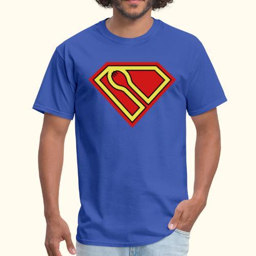 SUPER-spork superhero mens tee - Men's T-Shirt