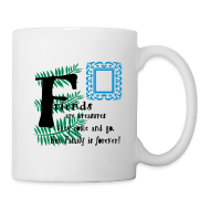 Mugs & Drinkware ~ Coffee/Tea Mug ~ Friends are treasures