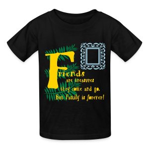 Friends are treasures - Kids' T-Shirt