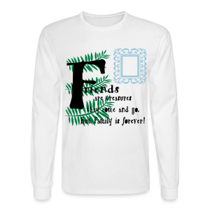Friends are treasures - Men's Long Sleeve T-Shirt