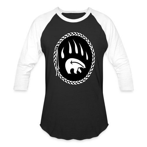 Tribal Bear Claw Shirts - Baseball Shirts - Baseball T-Shirt