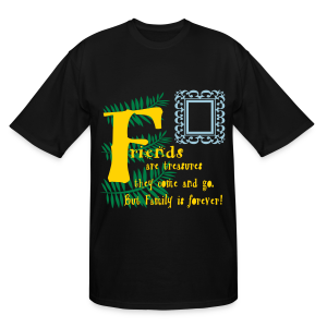 Friends are treasures - Men's Tall T-Shirt