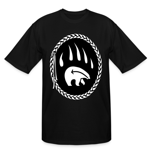Tribal Bear Claw Shirts - Plus Size T-shirts - Men's Tall T-Shirt