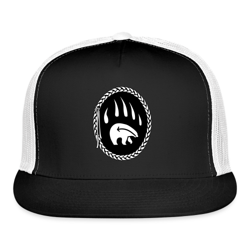 Tribal Bear Claw Caps First Nations Bear Hat - Trucker Cap