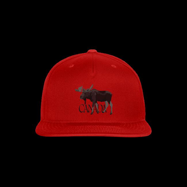 Buffalo Plaid Moose Adult Mesh Hat Adjustable Trucker Hat Black