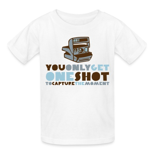 One Shot - Kids' T-Shirt