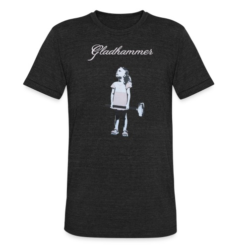 Gladhammer Tri-Blend (Reluctant Girl) - Unisex Tri-Blend T-Shirt