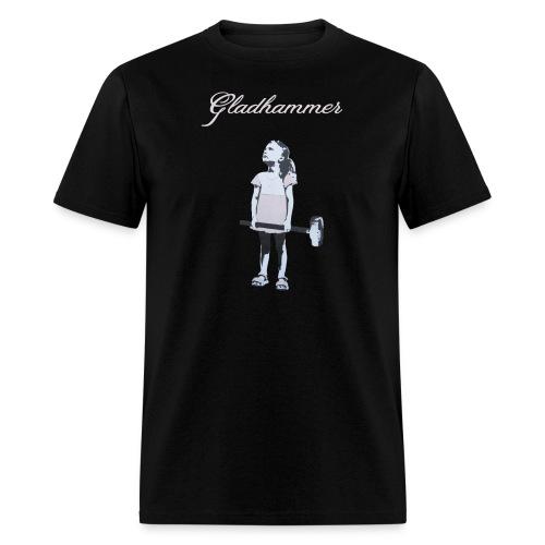Gladhammer T-shirt (Reluctant Girl) - Men's T-Shirt