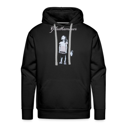 Gladhammer T-shirt (Reluctant Girl) - Men's Premium Hoodie