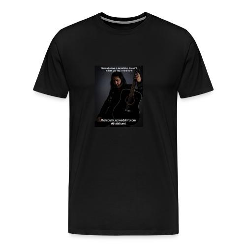 Always Believe Nate Guitar Men's TShirt - Men's Premium T-Shirt
