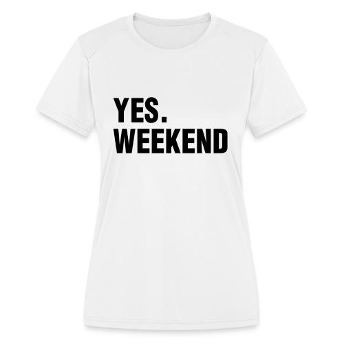 Women's Moisture Wicking Performance T-Shirt