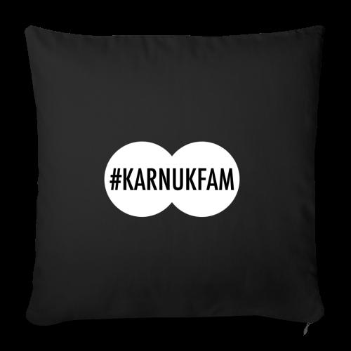 #KarnukFam Throw Pillow Cover - Throw Pillow Cover