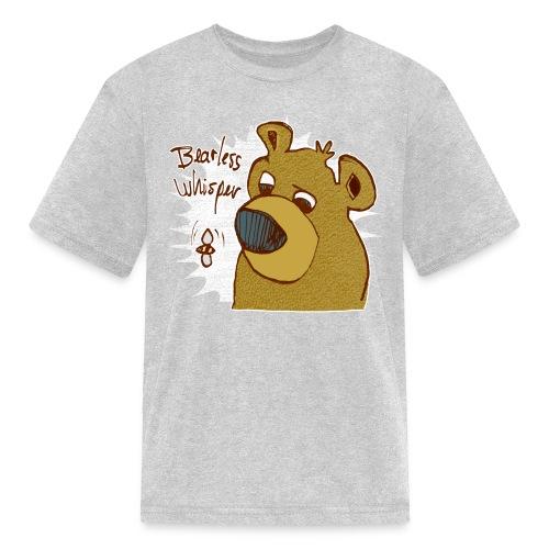 bearless whisper - Kids' T-Shirt