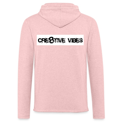 Cre8tive Vibes - Lightweight Terry Hoodie (unisex) - Unisex Lightweight Terry Hoodie