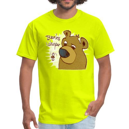 bearless whisper - Men's T-Shirt