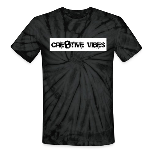 Cre8tive Vibes - Crewneck Sweatshirt (Unisex) - Unisex Tie Dye T-Shirt
