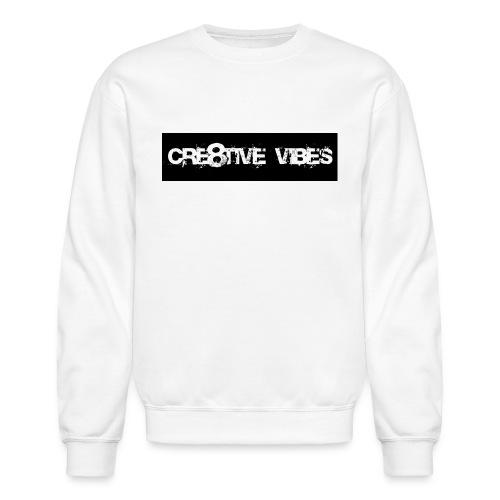 Cre8tive Vibes - Crewneck Sweatshirt (Unisex) - Crewneck Sweatshirt