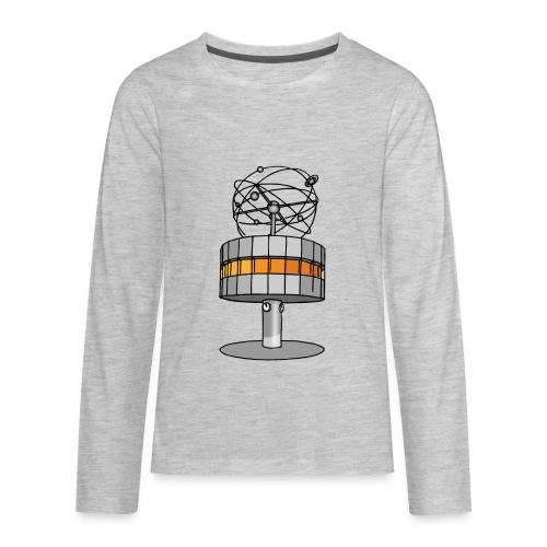 World time clock Berlin c - Kids' Premium Long Sleeve T-Shirt