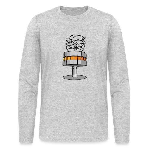 World time clock Berlin c - Men's Long Sleeve T-Shirt by Next Level
