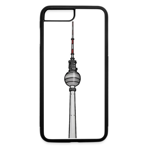 TV-Tower Berlin c - iPhone 7 Plus/8 Plus Rubber Case