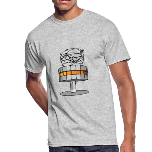 World time clock Berlin c - Men's 50/50 T-Shirt