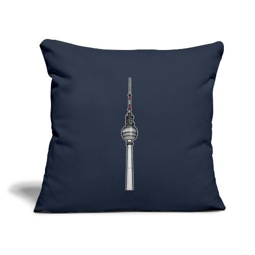 TV-Tower Berlin c - Throw Pillow Cover