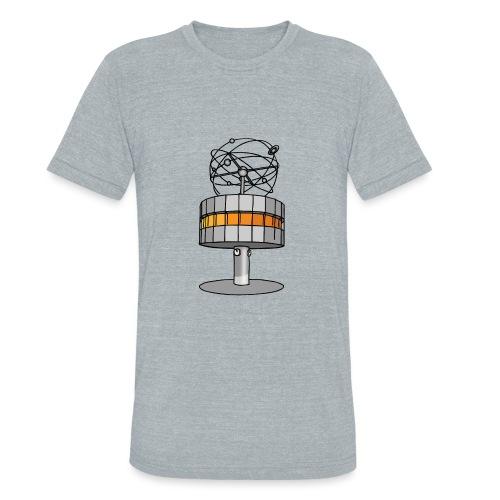 World time clock Berlin c - Unisex Tri-Blend T-Shirt