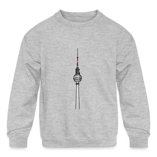 TV-Tower Berlin c - Kids' Crewneck Sweatshirt
