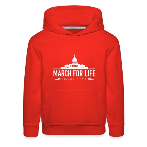 2019 March for Life - Kid's Sweatshirt  - Kids' Premium Hoodie