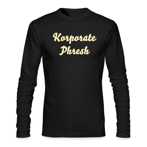 KP Black/Tan Long - Men's Long Sleeve T-Shirt by Next Level