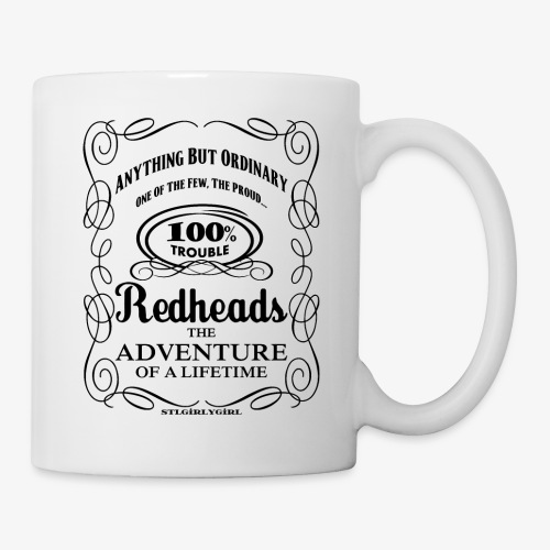 100% Trouble Redhead - Coffee/Tea Mug