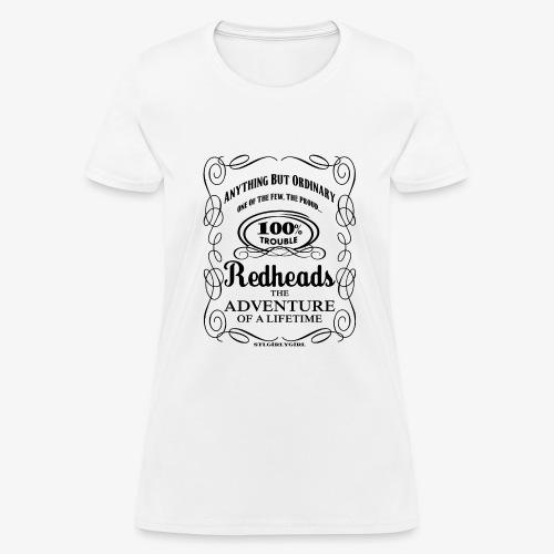 100% Trouble Redhead - Women's T-Shirt