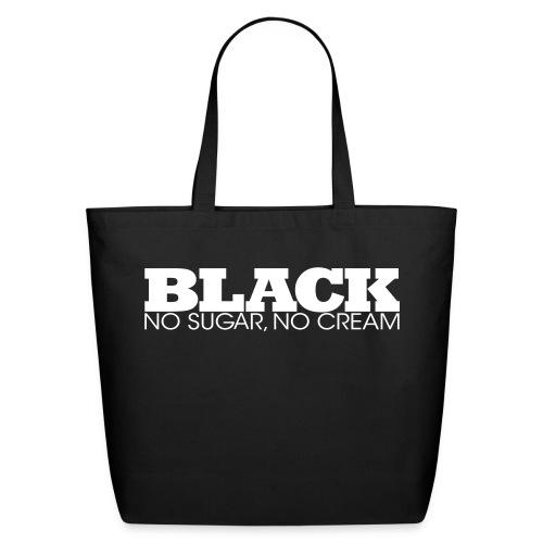 The Black Bag - Eco-Friendly Cotton Tote
