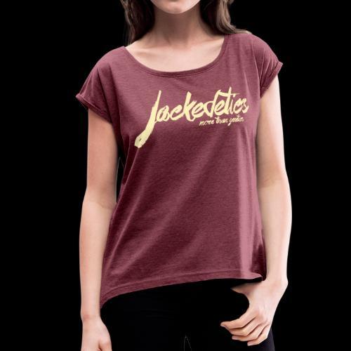 Jackedetics Tag T - Women's Roll Cuff T-Shirt