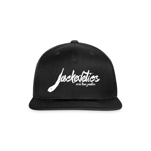 Jackedetics Cursive - Snap-back Baseball Cap