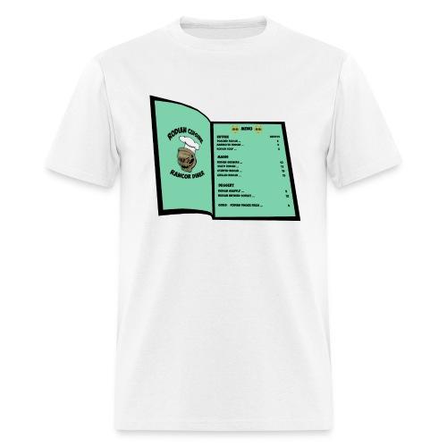 (LIMITED EDITION) MENU T-SHIRT - Men's T-Shirt