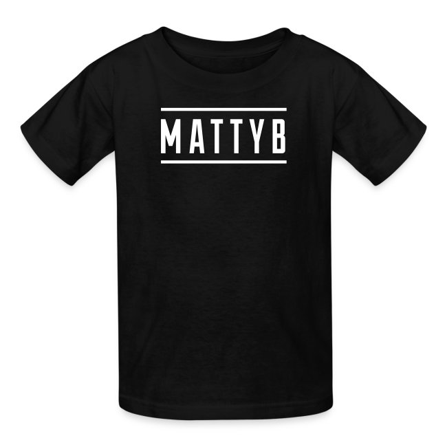 Kids Black MattyB Logo