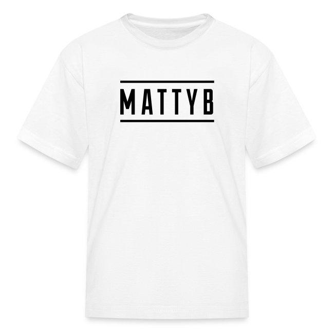 Kids White MattyB Logo